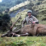 Marshall Alexander, USA with a Management Stag