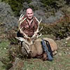 Brian Boyle with a Stag